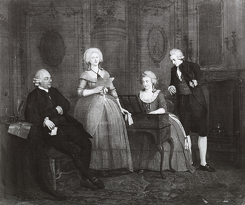 Ekels, Jan II, <em>Portrait of an Unknown Family</em>, 1785.