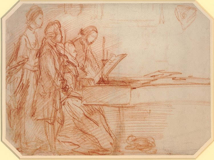 Gainsborough, Thomas, <em>Study of a Music Party.</em>