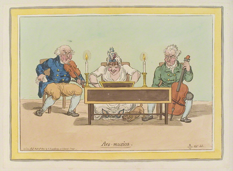 Gillray, James, <em>Ars-musica.</em>