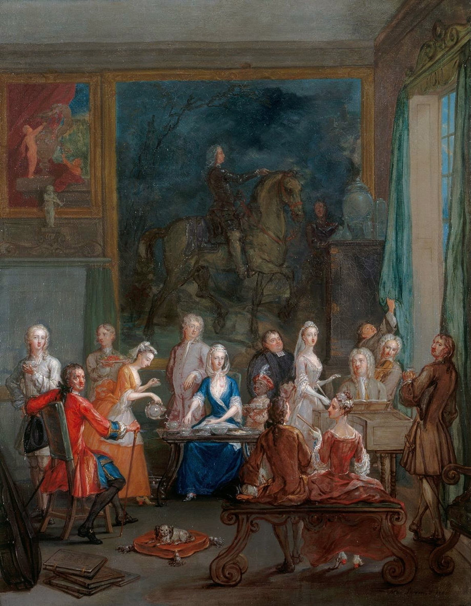Laroon, Marcellus the Younger, <em>A Musical Tea Party.</em>