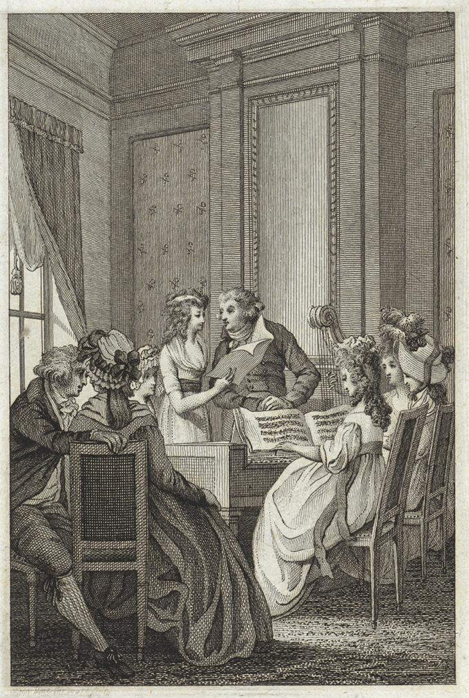 Vinkeles, Reinier, <em>Musical Gathering in a Chamber.</em>