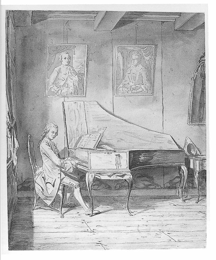 Zegelaar, Gerrit, <em>A Man Playing a Harpsichord.</em>