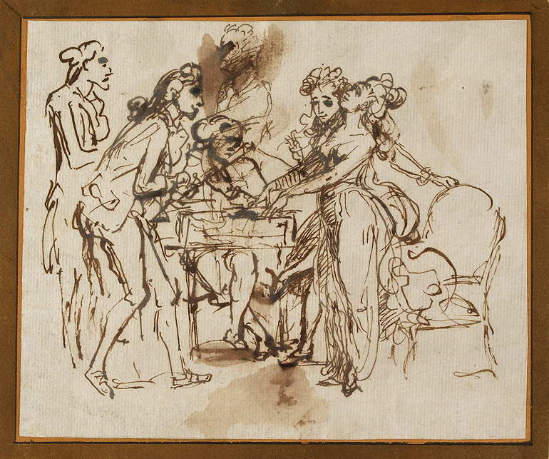 Zoffany, Johann, <em>Musical Party.</em>